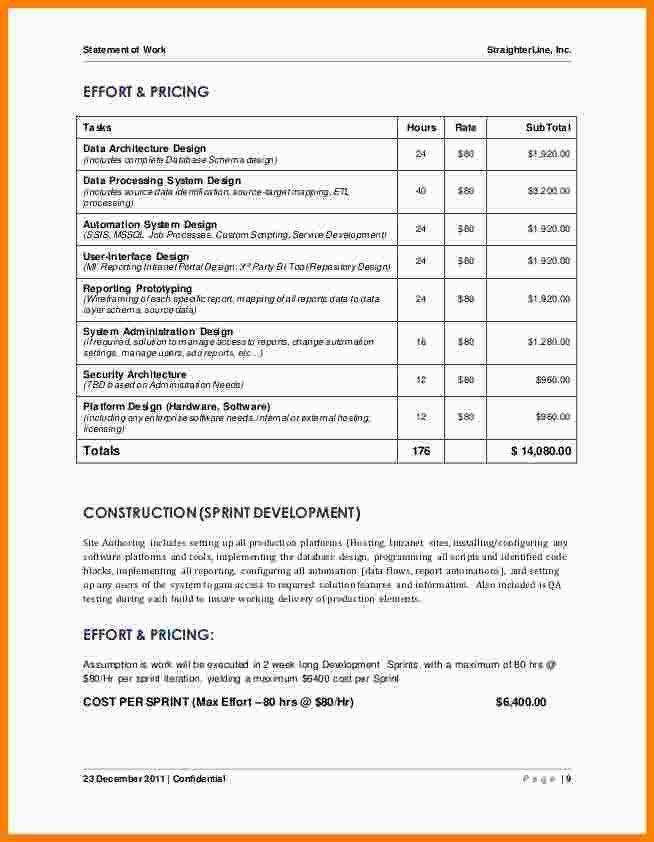Project Sow Template. chapter 12 project procurement management ...
