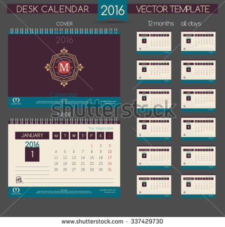 Calendar Sample Design 83 | Samples.csat.co