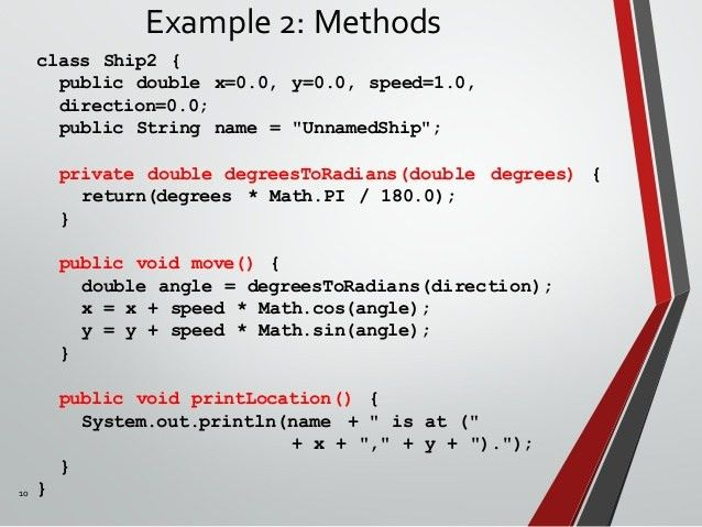 Java OOP Programming language (Part 3) - Class and Object