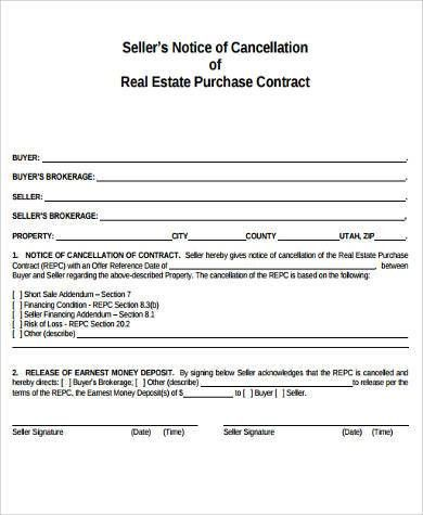 Real Estate Purchase Agreement. Note: If An Agent Is Modifying A ...