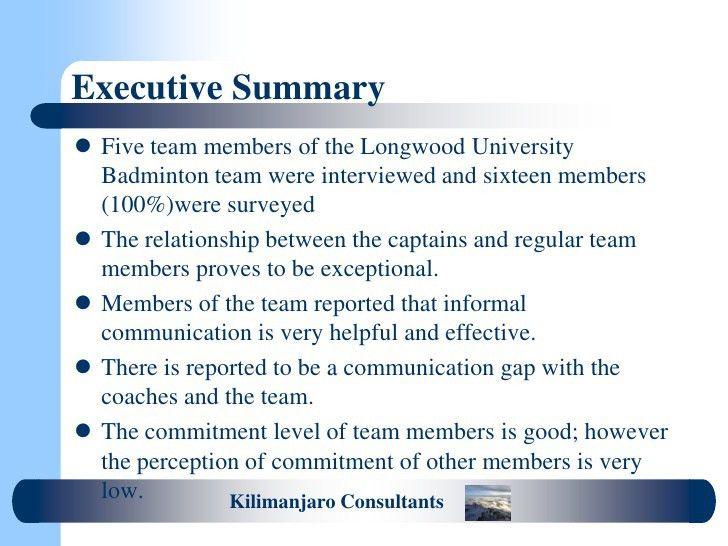 Sample student audit presentation