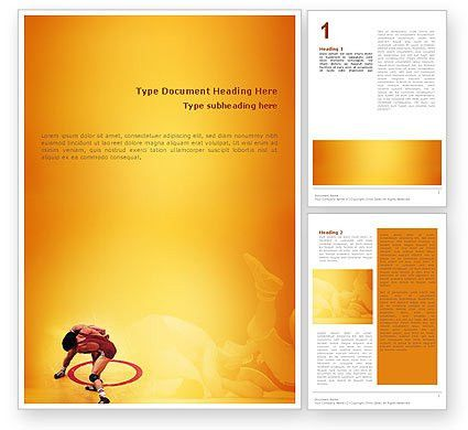 design microsoft word template - Template