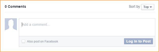 Facebook comments gadget - Online help - Wild Apricot help