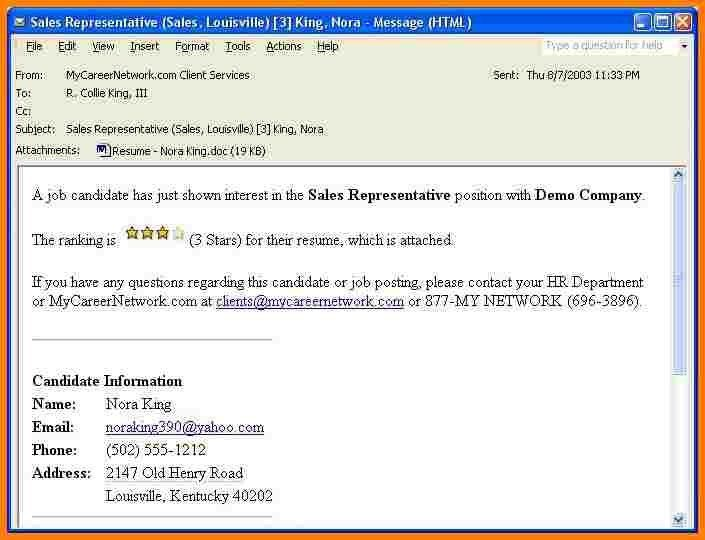 email resume examples 6 easy steps for emailing a resume and