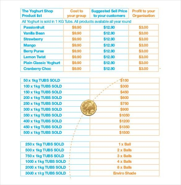 13+ Fundraiser Order Templates – Free Sample, Example, Format ...