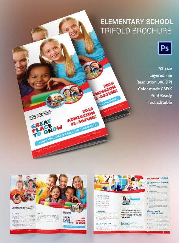 Education Brochure Template - 43+ Free PSD, EPS, Indesign Format ...