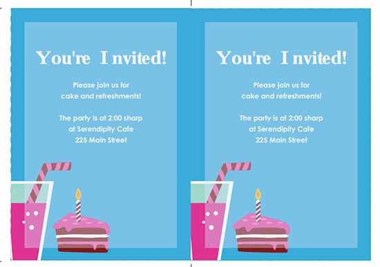 6+ Free Party Invitation Templates - Excel PDF Formats