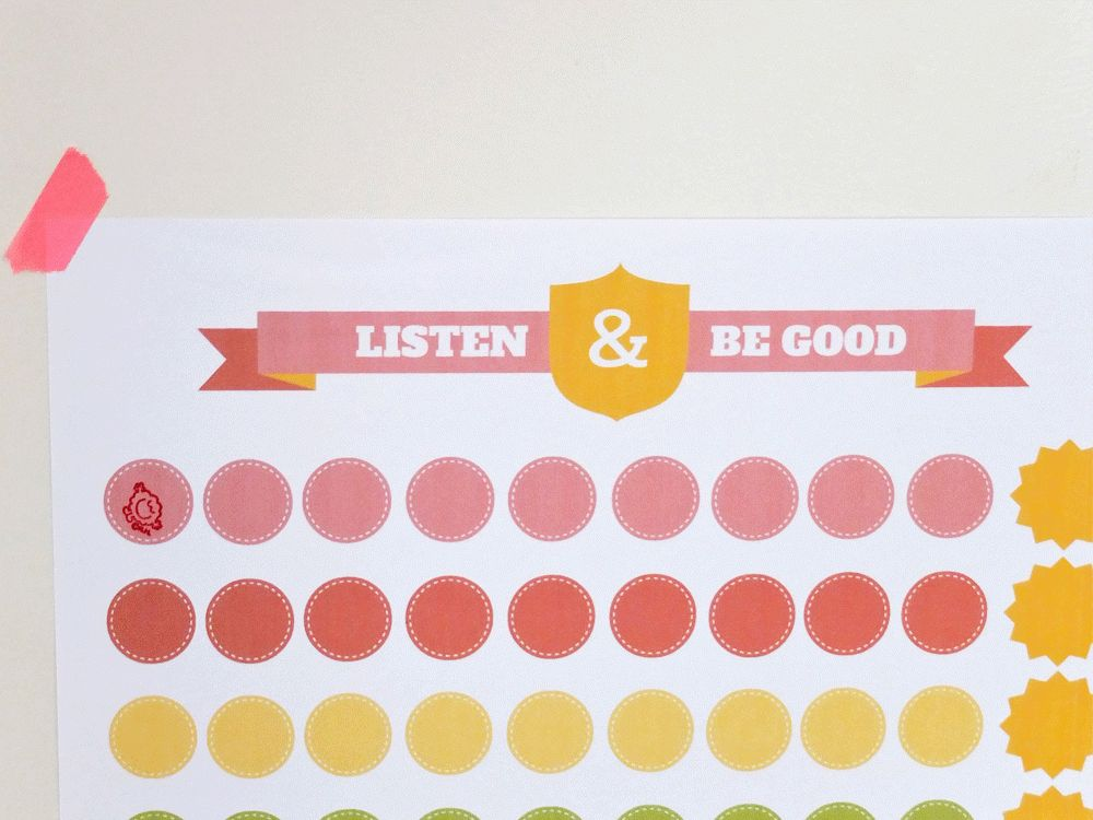 15 free printable reward charts to keep kids on the straight and ...