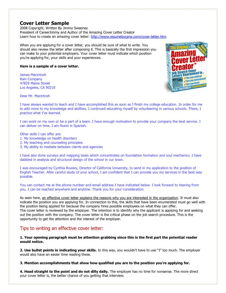 Smartness Ideas How To Write An Amazing Cover Letter 5 Amazing ...
