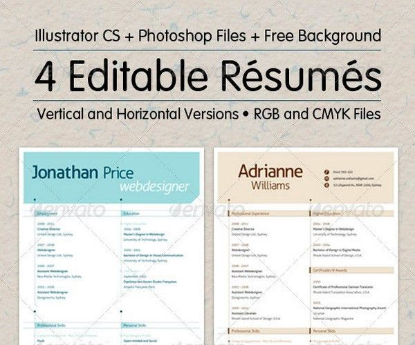 Elegant 10+ High School Resume Templates   Free PDF, WORD, PSD