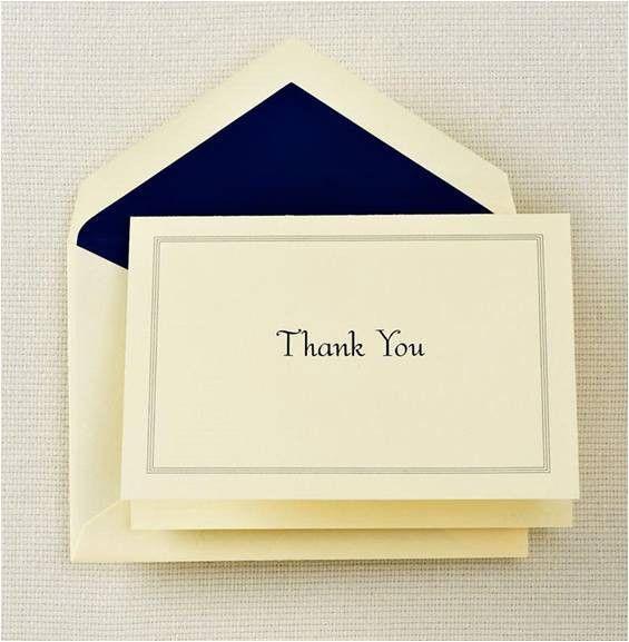 thank you notes | The Appreciation Factor
