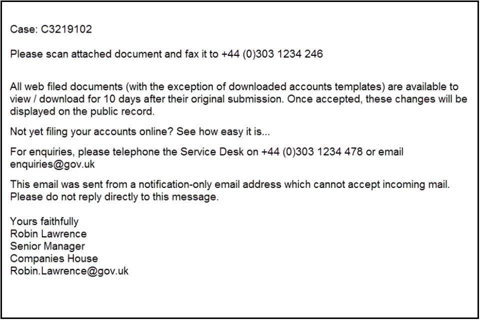 Reporting fraud to Companies House - GOV.UK