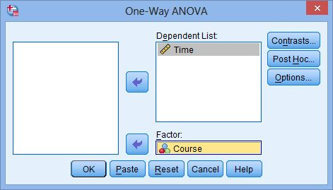 One-way ANOVA in SPSS Statistics - Step-by-step procedure ...