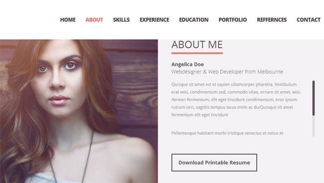 30+ Best Resume & CV HTML Templates 2016 | Designmaz