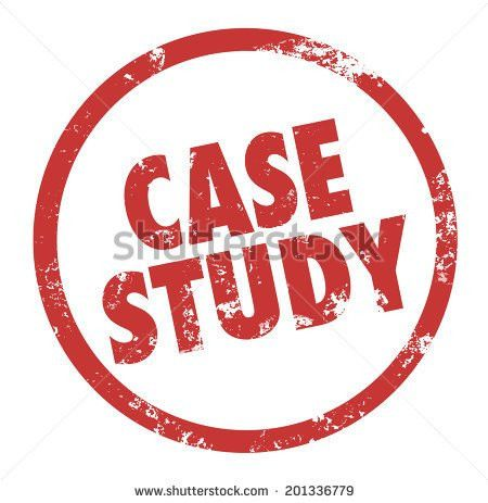 Case Study Words Circle Round Stamp Stock Illustration 201336779 ...