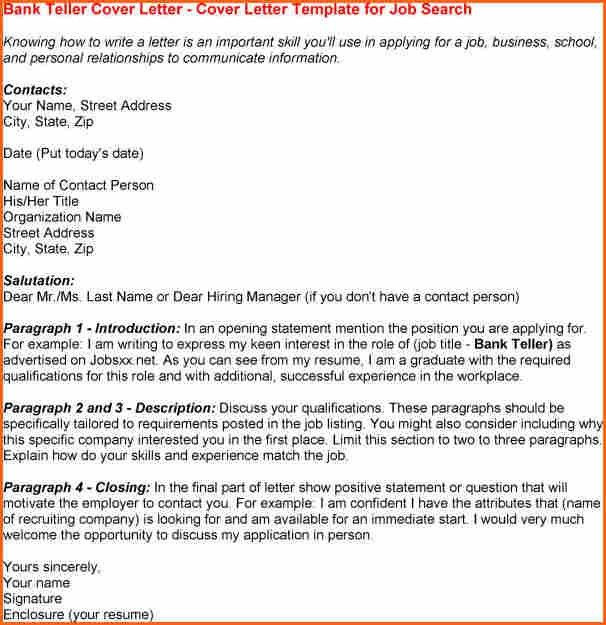 cover letter opening statements examples