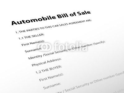 10 Best Images of Car Buyer Seller Agreement - Car Purchase ...