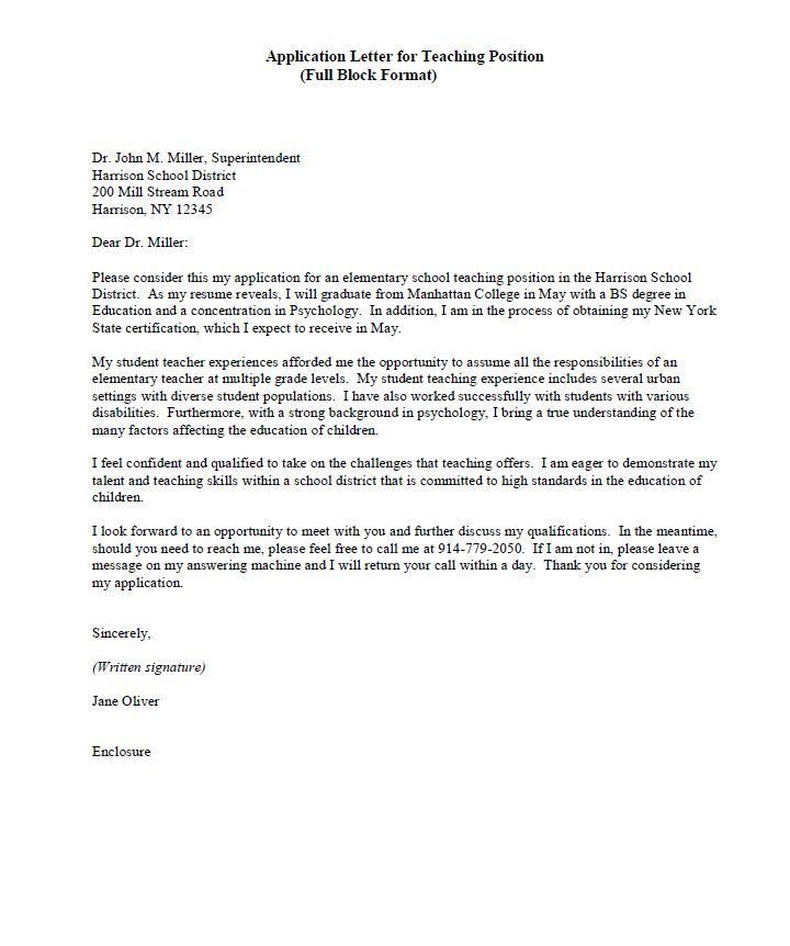 Resignation Letter Format: Secondary Covering Teacher Resignation ...
