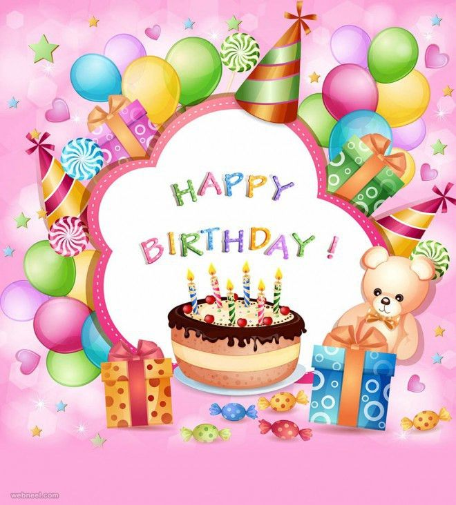 Sample Of Birthday Card Birthday Wishes Messages And Greetings – Vector Birthday Card