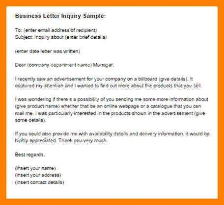 13+ email enquiry sample | coaching-resume