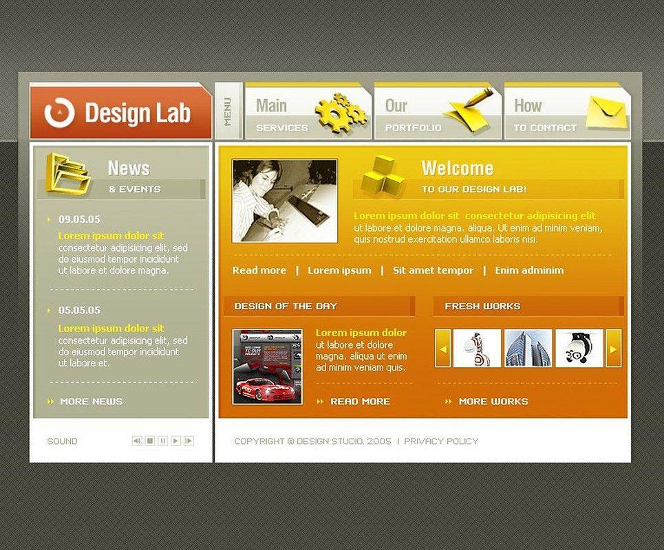 Website Design #8625 Web Design Laboratory Custom Website Design ...