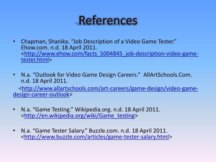 Video Game Designer Job Description. Video Game Design Skills Are ...