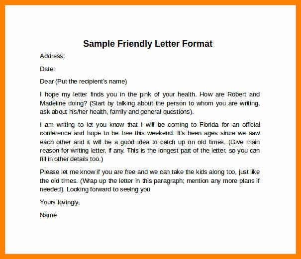 Format of letter of inquiry