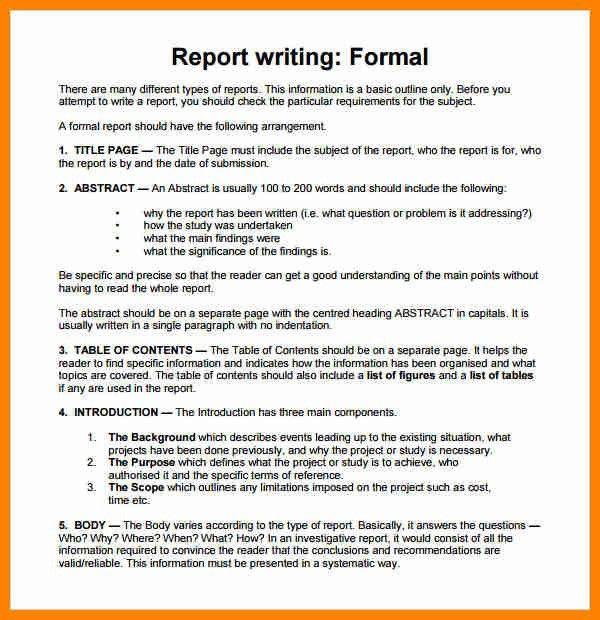 11+ formal report writing example | buyer resume