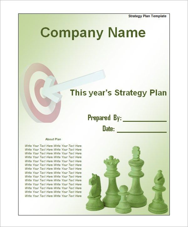 Sample Strategic Plan Templates - 10+ Free Documents in PDF, Word