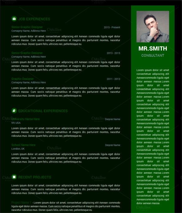 HTML5 Resume Templates || Free & Premium Templates | Creative Template