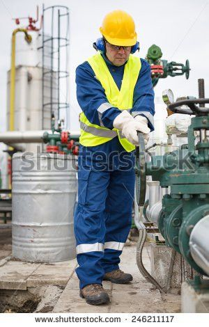 Maintenance Engineer Heating System Adjustable Wrench Stock Photo ...