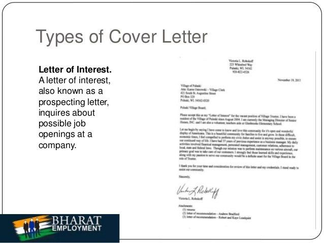 Employment Cover Letters. Professional Cover Letter Service ...