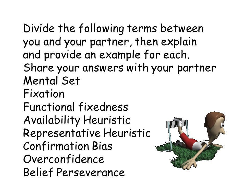 Thinking Problem solving activities: - ppt video online download
