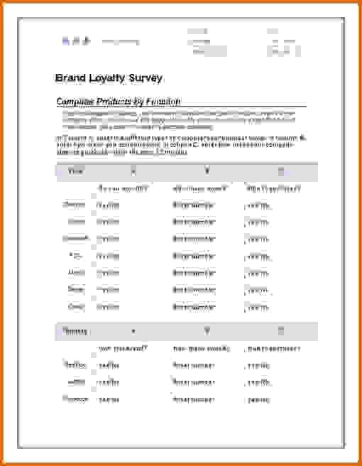 8+ microsoft word survey templateReference Letters Words ...