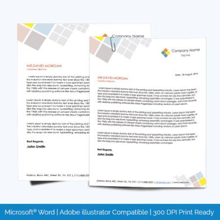 Letterhead Templates - 500 plus Graphic Design Letterheads