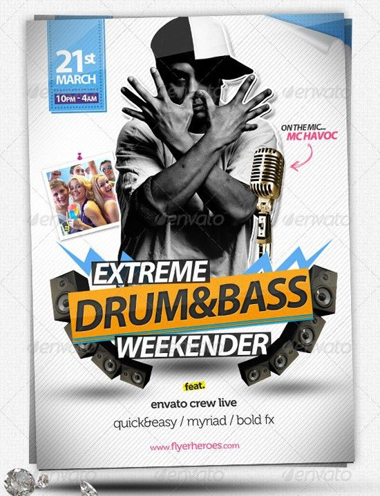 Best Flyer Designs by Quickandeasy from Graphicriver   56pixels.com