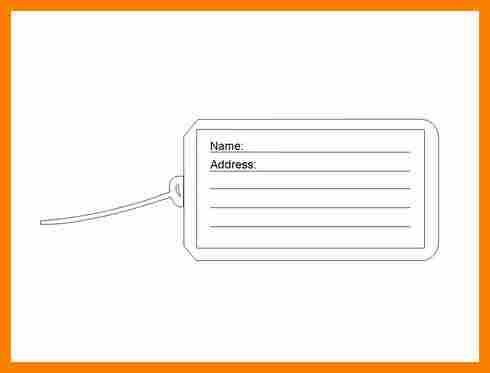7+ luggage tag template word | monthly budget forms