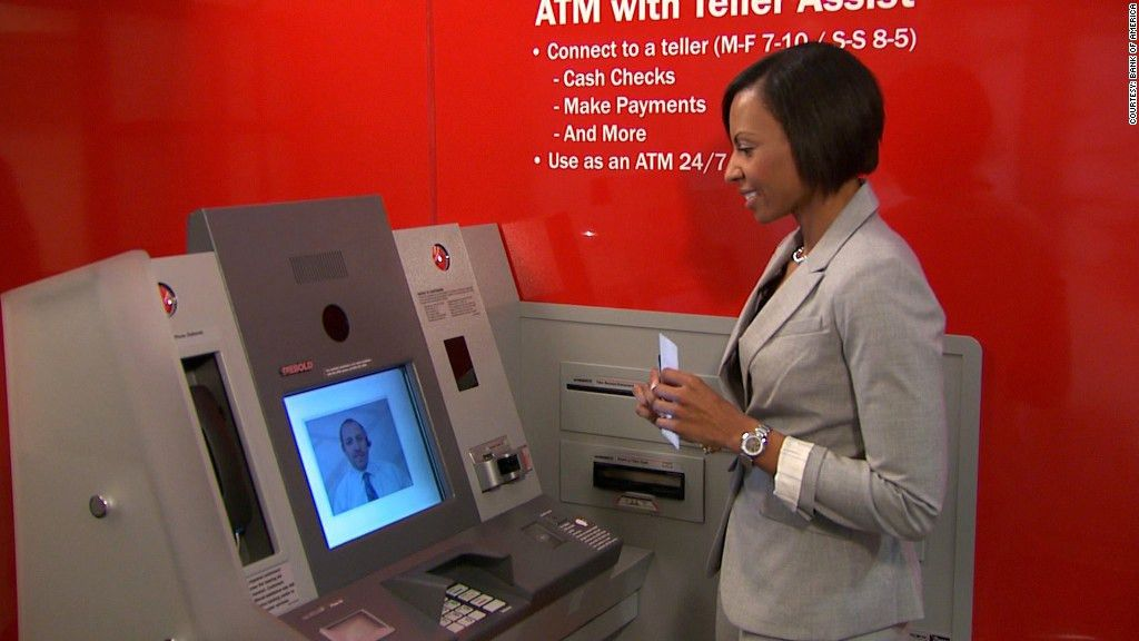 Next-generation ATMs boast video chat, exact change - Apr. 22, 2013