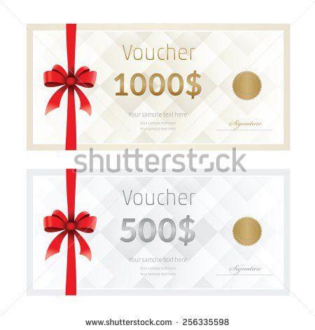 Prize Voucher Template [Template.billybullock.us ]