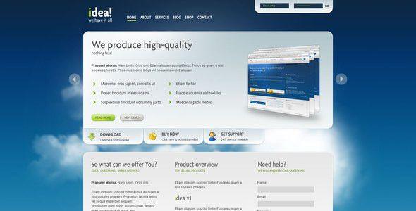 idea Business Shop Blog Template HTML by segen | ThemeForest