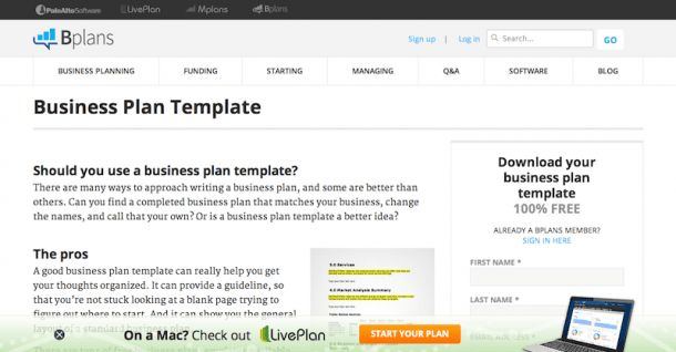 53 Business Plan Resources: Software, Templates, Tools, Free ...