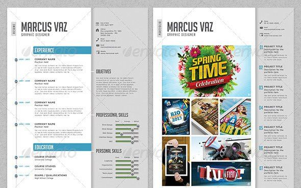 45 CV Resume Templates That Will Get You Hired | Pixel Curse