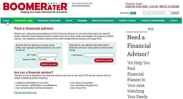 Find a Financial Advisor With These Online Search Tools
