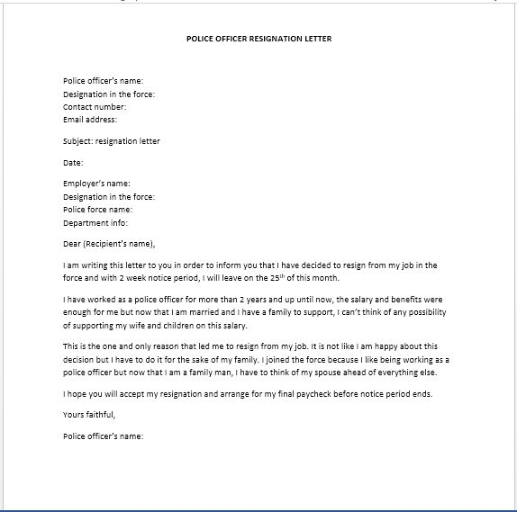 Resignation Letters – Page 2 – Smart Letters
