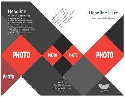 Template: Tri-Fold Brochure