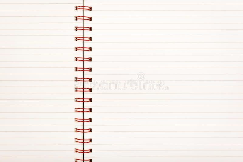 Lined Paper Notebook Royalty Free Stock Image - Image: 31139786