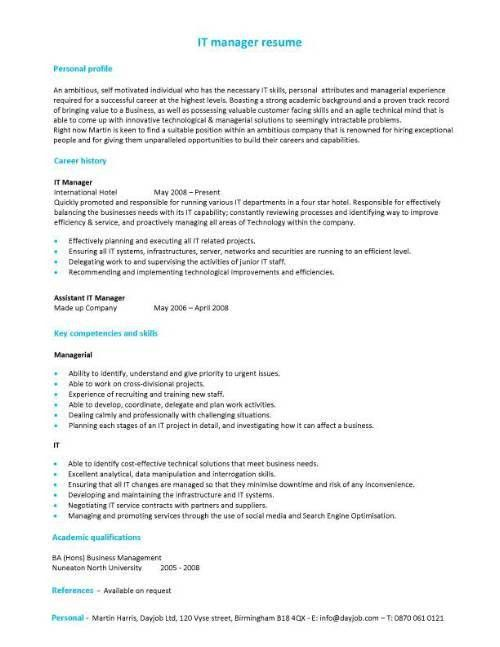 Resume Sample For Job Application 31911 | Plgsa.org