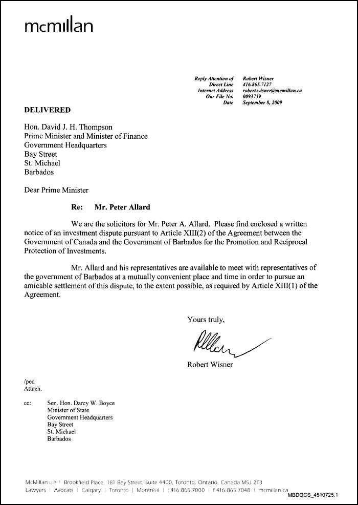 Investor files international complaint – says Barbados government ...