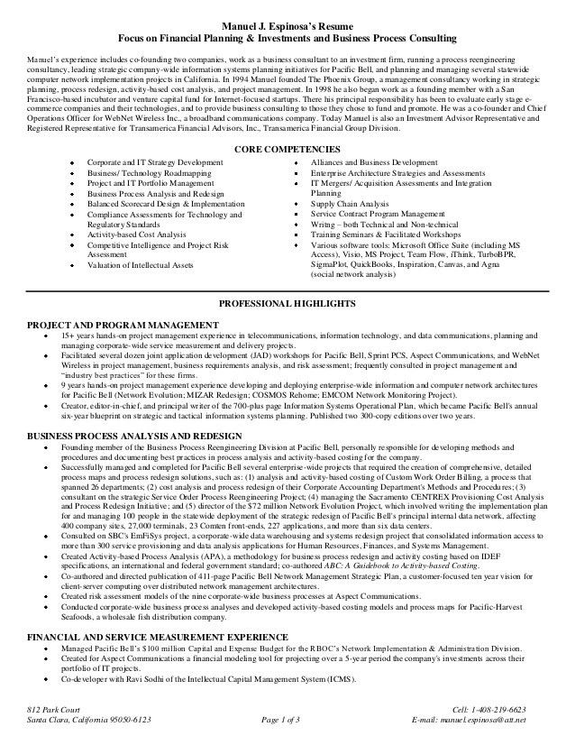 20+ [ Sample Resume Business Development Manager ] | Kumar ...