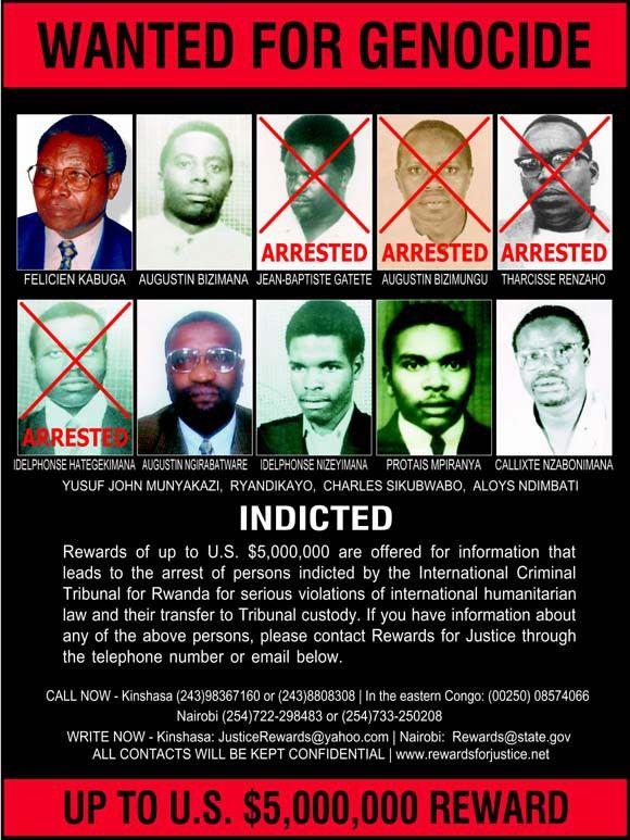 Image - Rwanda genocide wanted poster 2-20-03.jpg | Real Life ...